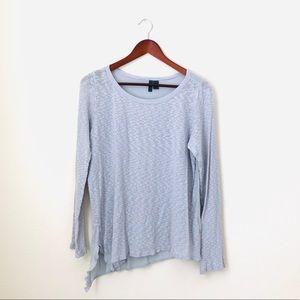 Left Of Center•Blue Long Sleeve Shirt
